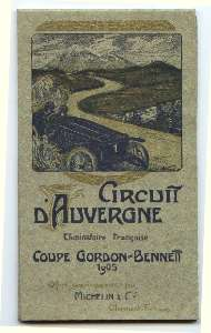 carte Michelin 1905